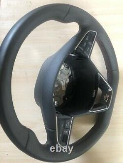 2020 Seat Ateca Fr Flat Bottom Multi-function Steering Wheel
