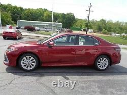 2021 Toyota Camry New 2021 Toyota Camry LE AWD Red