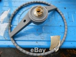 63 Chevy Impala & SS steering wheel with horn ring and all parts older restore
