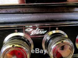 65-67 Delco Radio Chevrolet Multiplex Stereo Adapter Camaro Chevelle Nova Impala