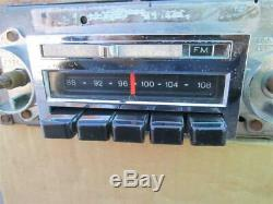 67-72 Chevy Truck AM FM Radio Factory Delco Blazer Suburban 1970's Chevrolet Van