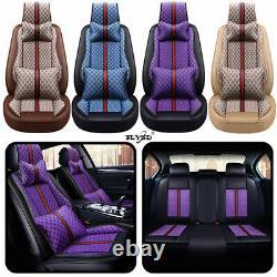 6D Leather Car Accessories Seat Cover SUV Luxury 5-Seats Cushion Fashion Decor
