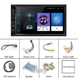 7 Android8.1 Car Navigation Mp5 Player HD Bluetooth Call Steering Wheel Control
