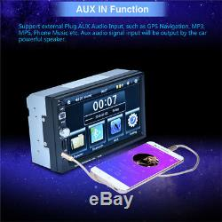 7 TFT Car Bluetooth MP5 Player GPS Navigation FM Radio Steering Wheel Control
