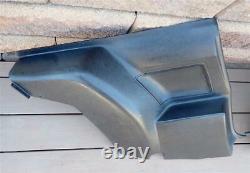 70-71 Camaro Firebird Rear Seat Side Panels Black 8700040 8800411 F Body AWESOME