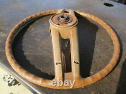 71 72 73 74 75 76 77 Dodge B Series Van Tan Steering Wheel Oem