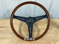 72-89 Mercedes R107 350SL 380SL 450SL 560SL Nardi Steering Wheel With Hub Adapter