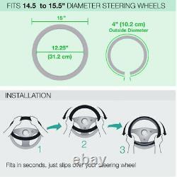 8pc Mr. Horsepower Car Floor Mats Seat Covers & Steering Wheel Cover Gift Set
