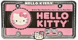 8pc Sanrio Hello Kitty Pink Car Floor Mats Steering Wheel Cover & Seat Covers