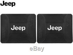 9 Pc Jeep Elite Interior Set Seat Covers Floor Mats Cargo Steering Wheel Cover