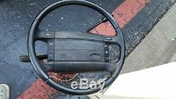 92-96 Bronco F150 F250 Steering Wheel Column Indicator OD Airbag Horn Criuse Con