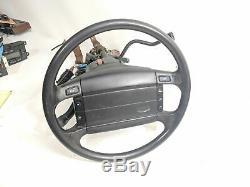 92-96 Bronco F150 F250 Steering Wheel Column Tilt Indicator Cruise OD Airbag OEM