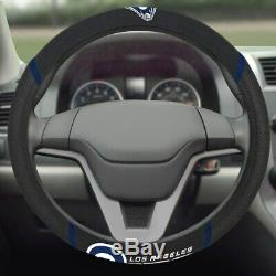 9pc NFL Los Angeles Rams Car Seat Covers Floor Mats Steering Wheel Cover