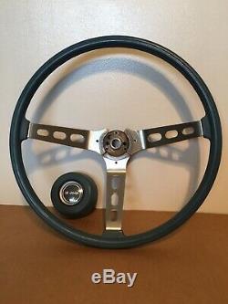 AMC Jeep Truck Honcho Levi Wagoneer CJ Factory Blue Steering Wheel Original Oem