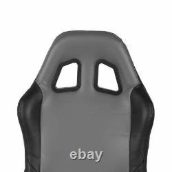 Adjustable Comfort Simulator Cockpit Steering Wheel Racing Seat Game Chair US