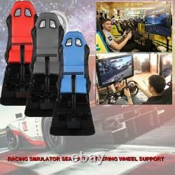 Adjustable Racing Chair Game Seat Cockpit Simulator Cockpit With Steering Wheel