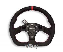 Assault Industries Ballistic D Steering Wheel Kit Polaris Slingshot Black
