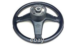 Audi 80-90-100-200-coupe Three Spoke Leather Steering Wheel & Boss 893419091p