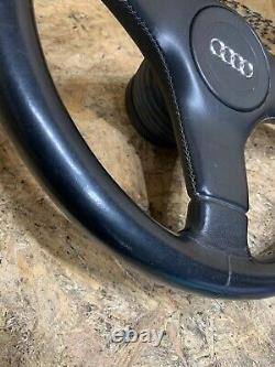 Audi 80 90 B3 B4 S2 Coupe Cabriolet Nardi 3 Spoke Sport Leather Steering Wheel
