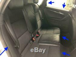 Audi A3 Black Edition Seats Flat Bottom Steering Wheel Interior Trim Conversion