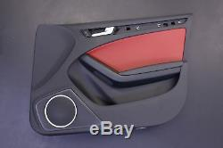 Audi S4 B8 Sport Red Seats Opt Q4q Panel Console Steering Wheel Shift Knob Set