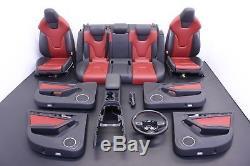 Audi S4 B8 Sport Seats Opt Q4q Panel Console Steering Wheel Shift Knob Set Oem