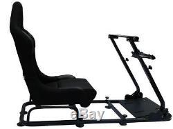 Car Gaming Racing Steering Wheel Frame Bucket Seat PC PS3 PS4 XBOX Forza Logi