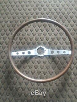 Chevrolet 1964-1966 Chevy Beautiful Wood Steering Wheel Original VERY NICE