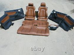 Designo 98-03 Mercedes W208 Clk320 Clk430 Clk55 Seat Front Rear Door Panel Set