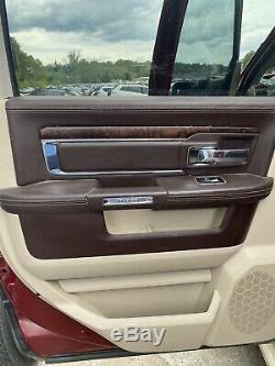 Dodge Ram Longhorn Crew Cab Heat Cool Leather Seats Door Panel Steering Wheel