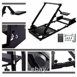 Driving Racing Seat Racing Simulator Steering Wheel Stand Compatible Logitech