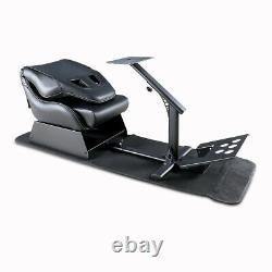 Evolution Simulator Cockpit Steering Wheel Stand Racing Seat Gaming Chair