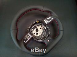 Flat bottom AUDI A3 A4 A5 S4 S5 A6 S6 SEAT steering wheel