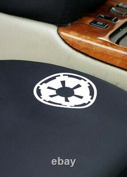 For Chevrolet Star Wars Stormtrooper Car Seat Covers Floor Mat Steering Wheel