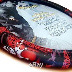 For Kia New Harley Quinn Car Seat Covers Floor Mat Steering Wheel Cover Set