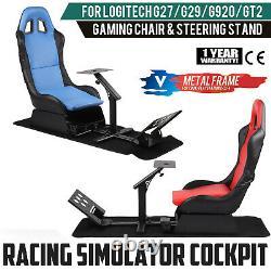 For Logitech G29 G920 Thrustmaster Racing Seat Simulator Steering Wheel Stand