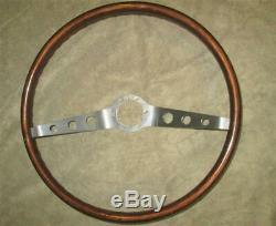 GM 2 Spoke Wood Steering Wheel 1964-1966 Chevelle Nova Impala REAL DEAL SURVIVOR