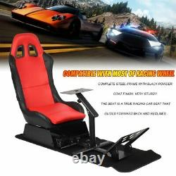 Gaming Driving Seat Frame Cockpit Racing Simulatorwith Steering Wheel Support