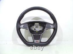 Genuine 2015 Seat Ibiza Steering Wheel 6j0419091a Genuine No Bag