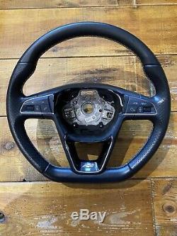 Genuine Seat Leon Cupra Mk3 Ibiza Steering Wheel 5f0419091c