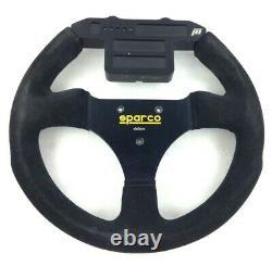 Genuine Sparco Dallara steering wheel, Carlin Motorsport 2004 season. 8D