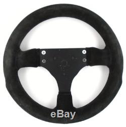 Genuine Sparco P285 black suede competition steering wheel. Track Race etc 8A
