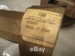 Gm Seatbelt Seat Belt Gto Cutlass 442 Chevelle Ss 68 69 70 71 72 Retractor Buick