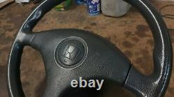 Honda 96-00 Civic EK3 grey steering wheel non-SRS EJ9 EK3 EK4 EK9