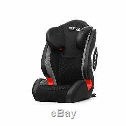 Italy Sparco F1000KI G23 Grey Child Seat (15-36 kg) (33 79 lbs)