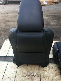 LEXUS IS250 F-Sport Front Black Leather Driver Passenger Seats WithO Airbag OEM