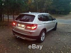 LHD 2012 BMW X3 xDrive 335i, Automatic, leather seats, heated steering wheel