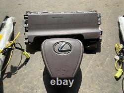 Lexus ES350 ES300 Steering Wheel Airbag Knee Airbag Seat OEM 2019 2021 Red