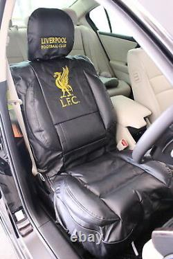 Liverpool FC Car Seat Covers Limited Edition (pair) plus steering wheel cover