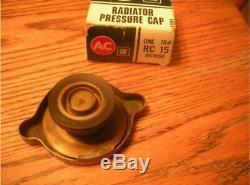Looks like NOS BIG Ear RC15 Radiator Cap Hollow Rivet Show Car Mint